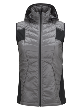 Women's Alum Vest Quiet Grey | Peak Performance