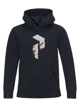 Kids Art Hoodie Salute Blue | Peak Performance