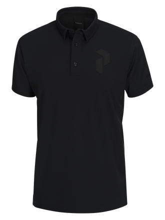 Polo pour hommes Panmore Black | Peak Performance
