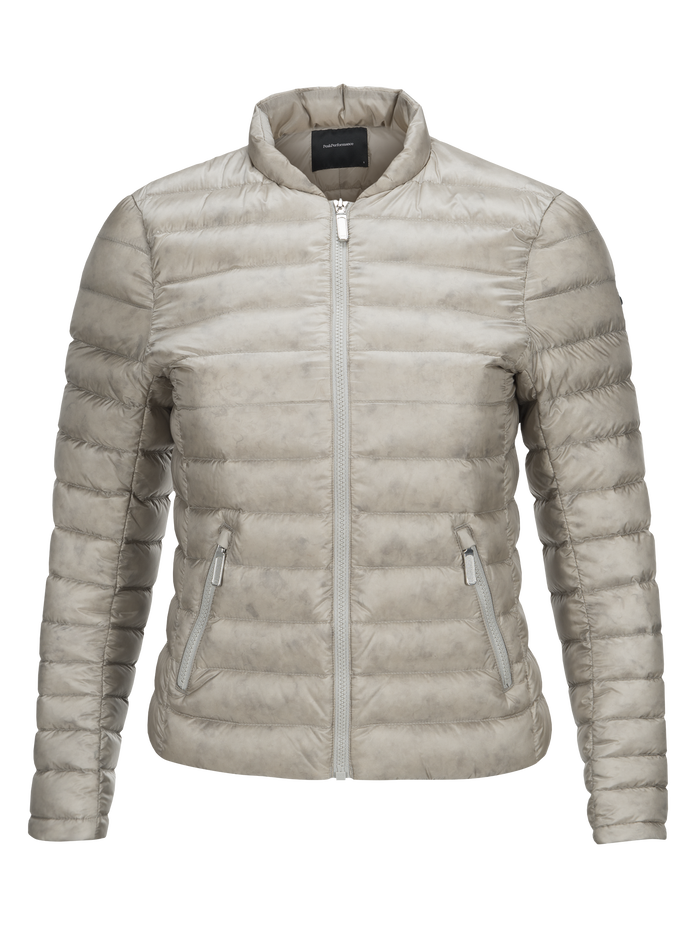 Women's Bonnie Liner Jacket Mortar Grey | Peak Performance
