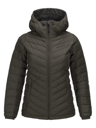 Women's Frost Down Liner Cotton Jacket Black Olive | Peak Performance