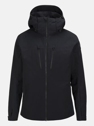 Herren Lanzo  Skijacke Black | Peak Performance