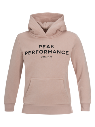 Kids Hooded Sweater Softer Pink | Peak Performance