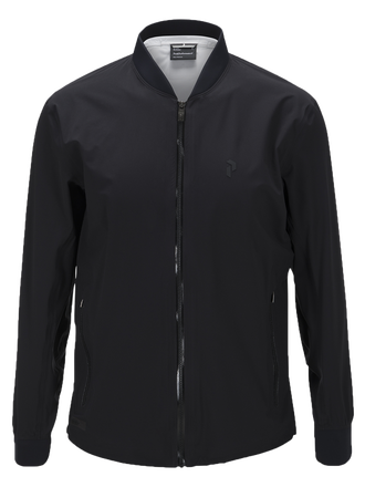 Men's Golf Howick 3-Layer Jacket Black | Peak Performance