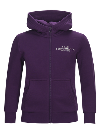 Kids Logo Zipped Hoodie Raf Blum | Peak Performance