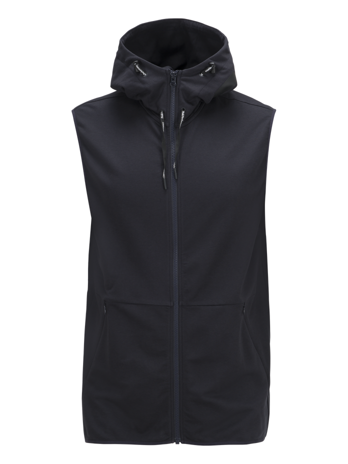Men's Tech Lite Sleeveless Zipped Hood