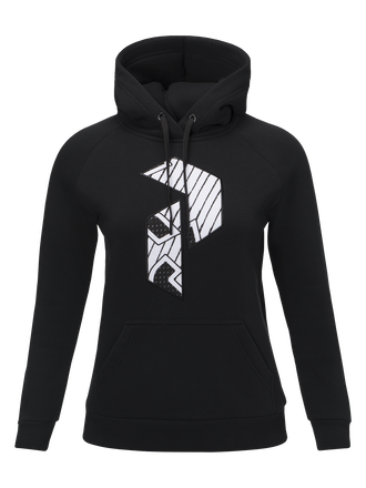 Women's Art Hooded Sweater Black | Peak Performance