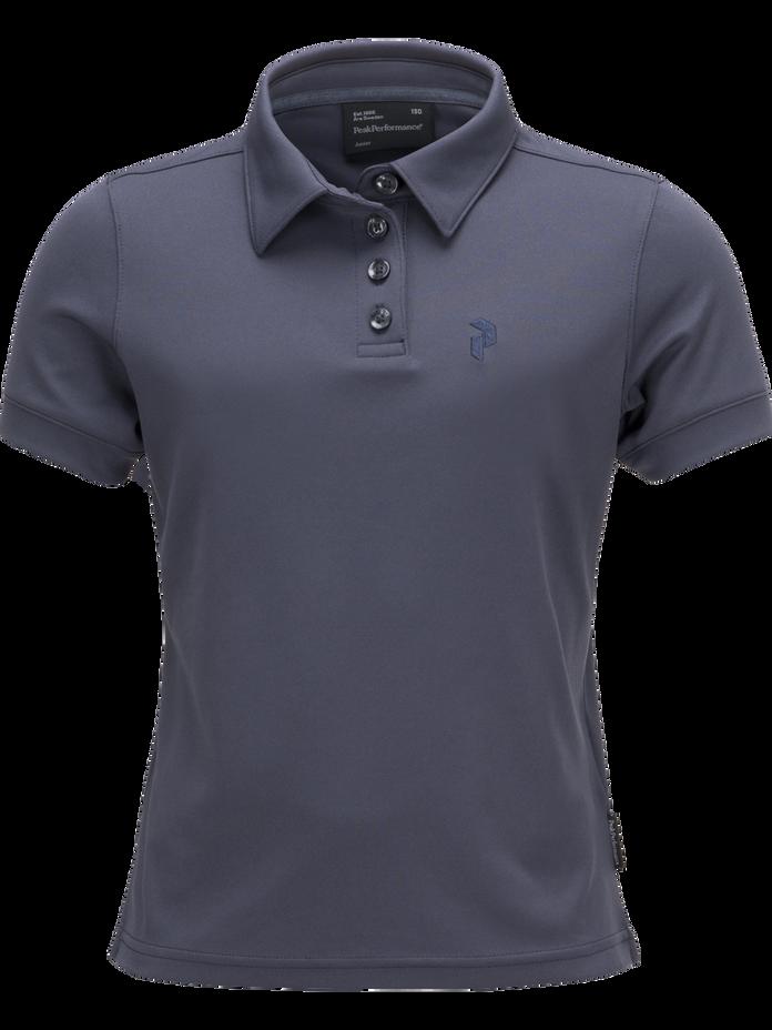 Elsham golftröja för barn Dark Slate Blue | Peak Performance