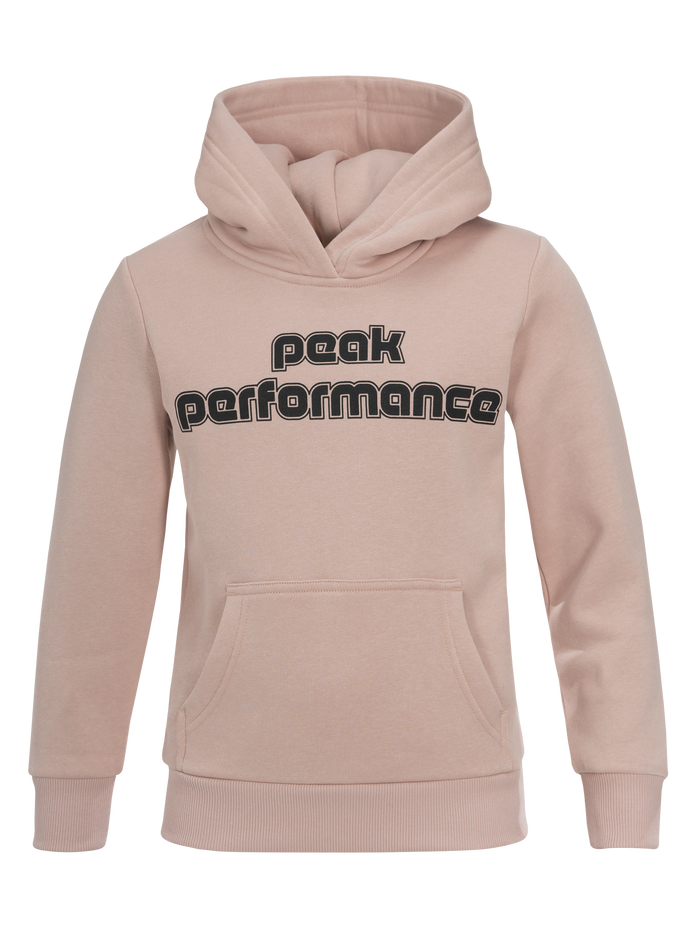 Kids Sportswear Printed Hoodie Softer Pink | Peak Performance
