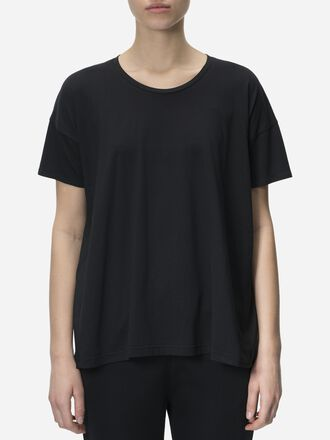 Damen Tech Nylon Top Black | Peak Performance