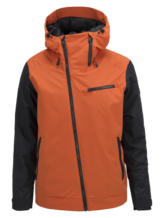 Scoot herrskidjacka Blaze Orange | Peak Performance