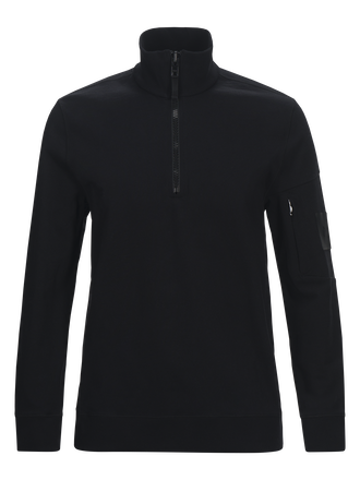 Sweat homme à demi-fermeture à glissière Scrill Black | Peak Performance