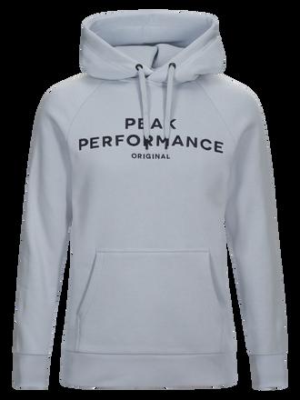 Logo herrtröja med huva Shirt Blue | Peak Performance
