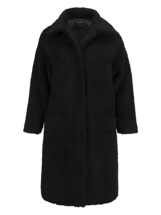 Women's Teddy Coat Black | Peak Performance