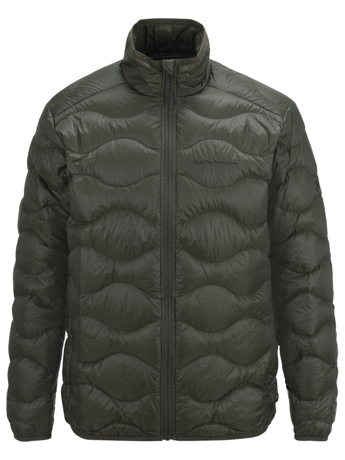 Men's Helium Jacket Forest Night | Peak Performance