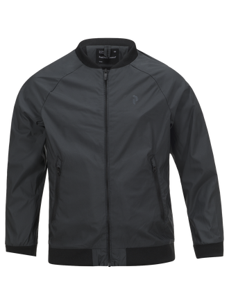 Kids Golf Octon Jacket  Black | Peak Performance