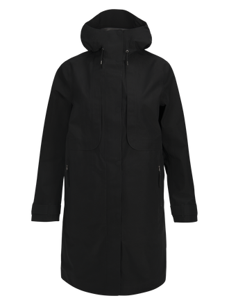 Damen Mist Mantel Black | Peak Performance