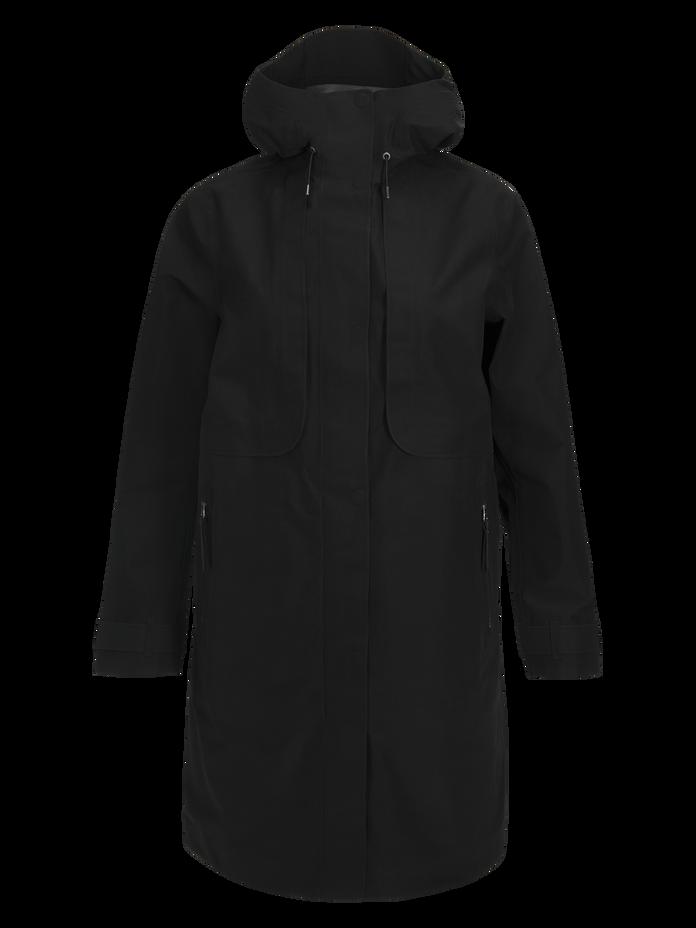 Women's Mist Coat Black | Peak Performance
