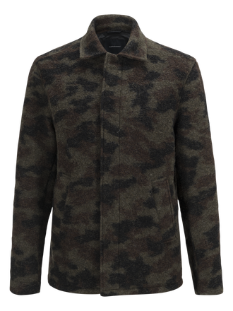 Men's Wool Camo Shirt