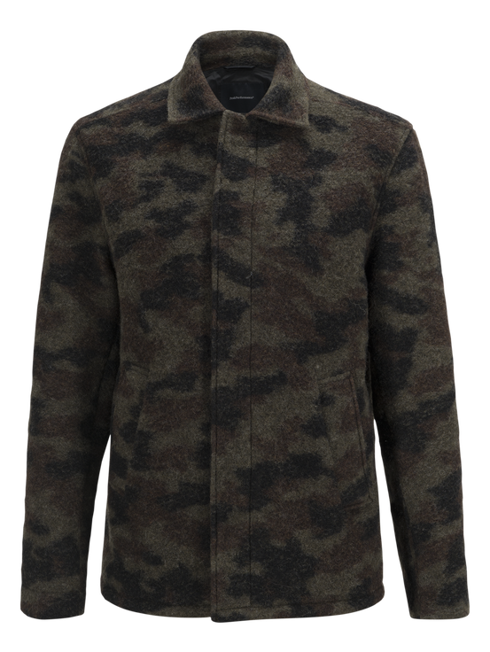 Men's Wool Camo Shirt Pattern | Peak Performance