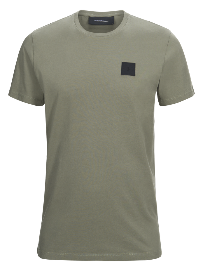 Herren Original T-Shirt Leaflet green | Peak Performance