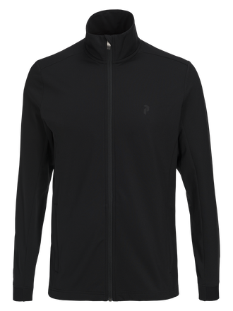 Men's Ace Zipped Mid-Layer Black | Peak Performance