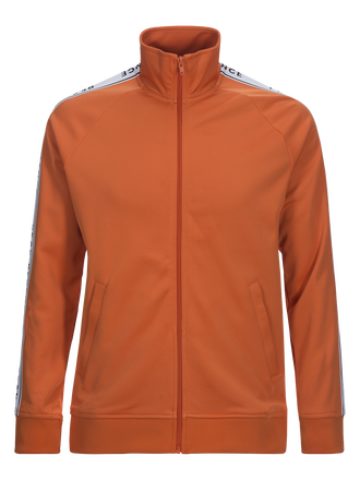 Herren Tech Club Mit Reißverschluss Sweater Orange Flow | Peak Performance