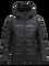 Women's BL Helium Hooded Jacket Black   Peak Performance