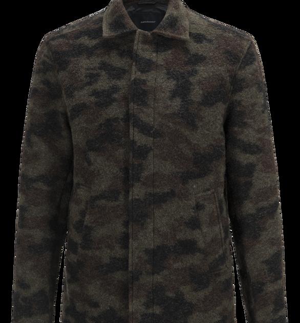 Herren Wool Camo Hemd