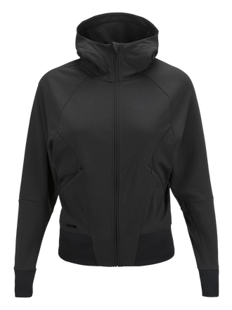 Women's Civil Soft Zipped Hooded Jacket