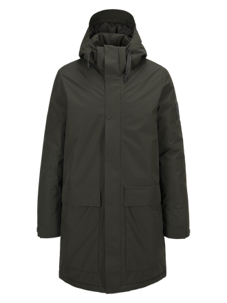 Men's Thyfon Jacket Olive Extreme | Peak Performance