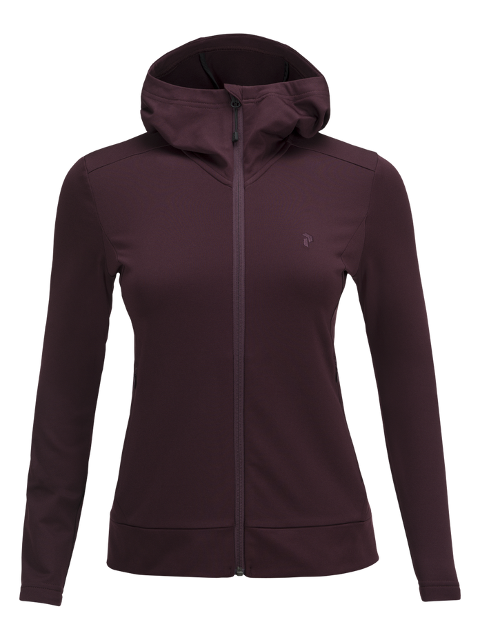 Women's Ace Zipped Hooded Mid-Layer