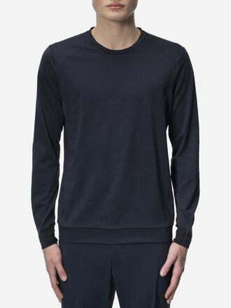 Men's Civil Mid-Layer Crew neck Salute Blue | Peak Performance