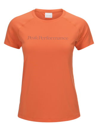 Women's Gallos Co2 Short-sleeved Top Fresh Mandarin | Peak Performance