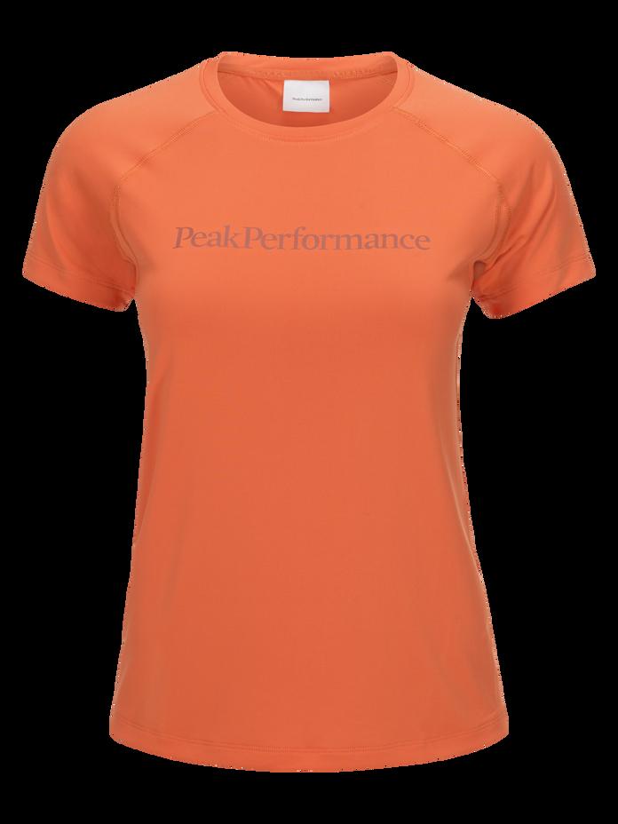Damen Gallos Co2 Kurzärmlig Top Fresh Mandarin | Peak Performance
