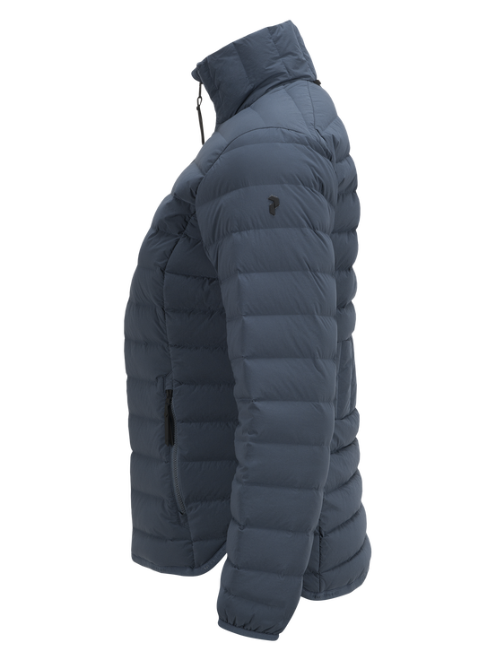 Women's Stretch Down Liner jacket Blue Steel | Peak Performance
