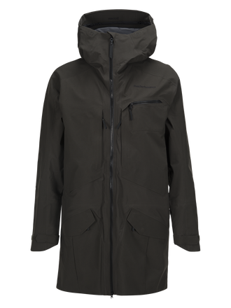 Men's Volcan Ski Parka Olive Extreme | Peak Performance