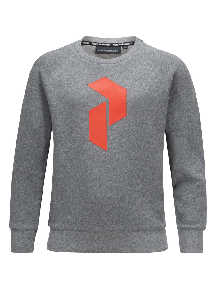 Kids tech crew neck