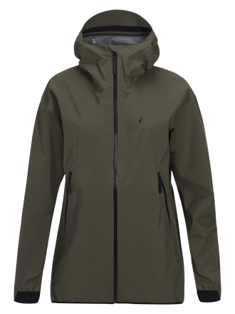 Women's Prime Jacket Terrain Green | Peak Performance