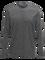 Civil Merino långärmad t-shirt för herrar Grey melange | Peak Performance