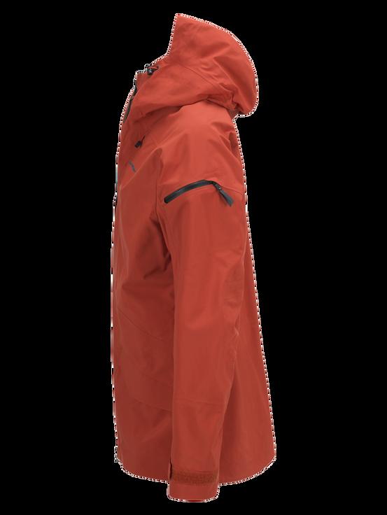 Teton herrskidjacka Orange Planet | Peak Performance