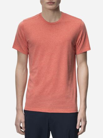 Men's Civil T-shirt Orange Flow | Peak Performance