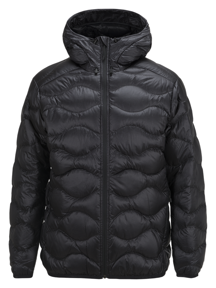 Men's BL Helium Hooded Jacket Black | Peak Performance