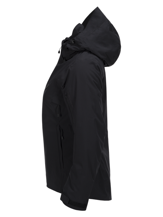 Women's Anima Ski Jacket Black | Peak Performance