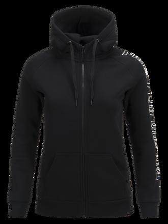 Women's Zipped Hooded Sweater