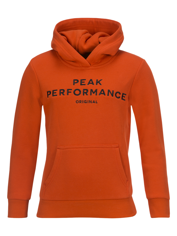 Capuche enfants Logo Orange Lava | Peak Performance