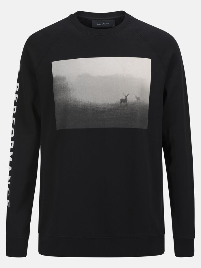 Unisex Enter the Wild Crew neck Black | Peak Performance