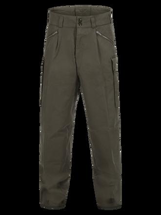 Unisex Canvas Fatigue Pant Swedish Army Green   Peak Performance