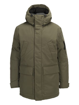 Ground herrparkas Soil Olive | Peak Performance