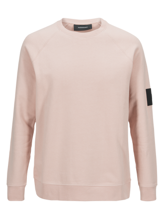 Men's Original Crew Neck Softer Pink | Peak Performance